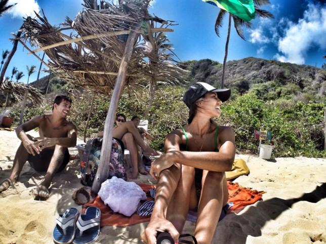 Final de 2014 - Praia do Amor